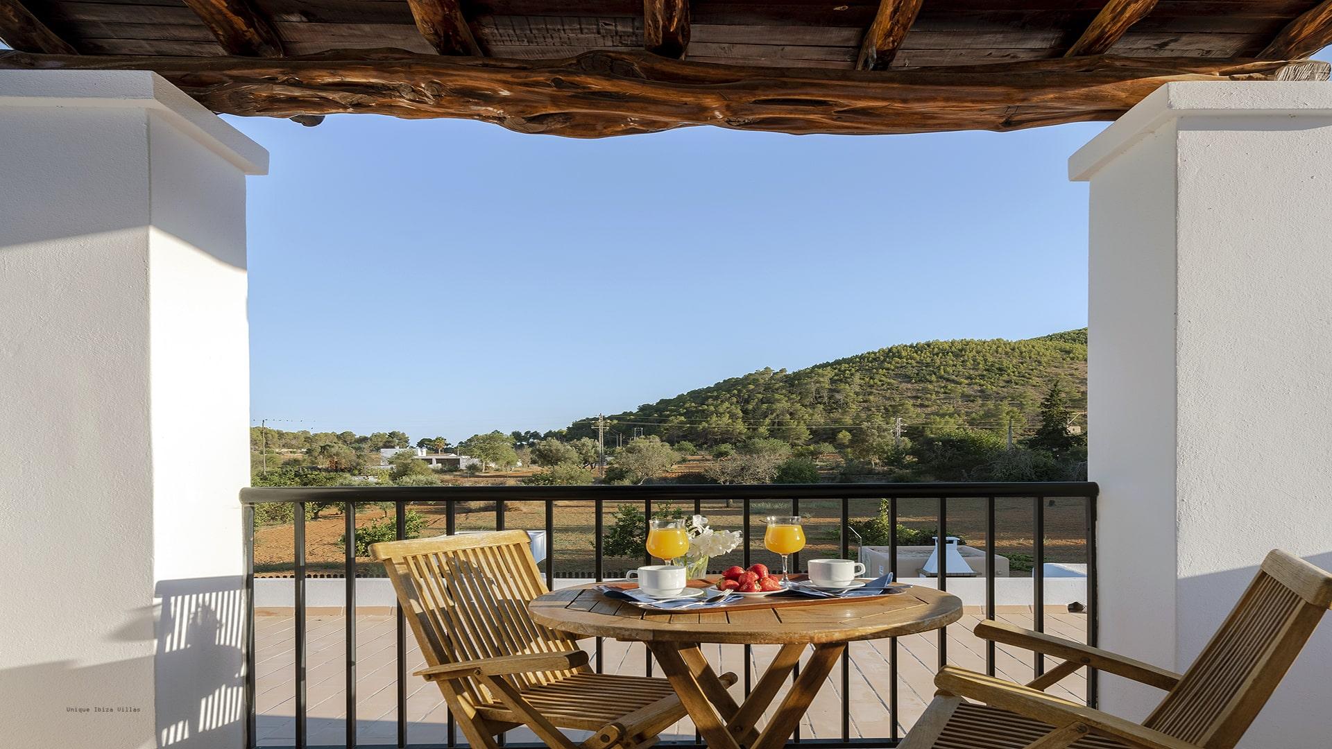 Villa Los Naranjos Ibiza 26A First Floor Terrace