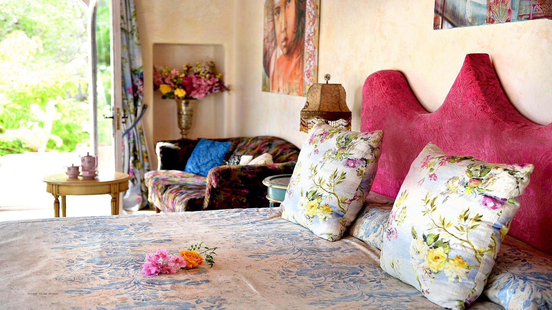Can Baboo Ibiza 23 Master Bedroom