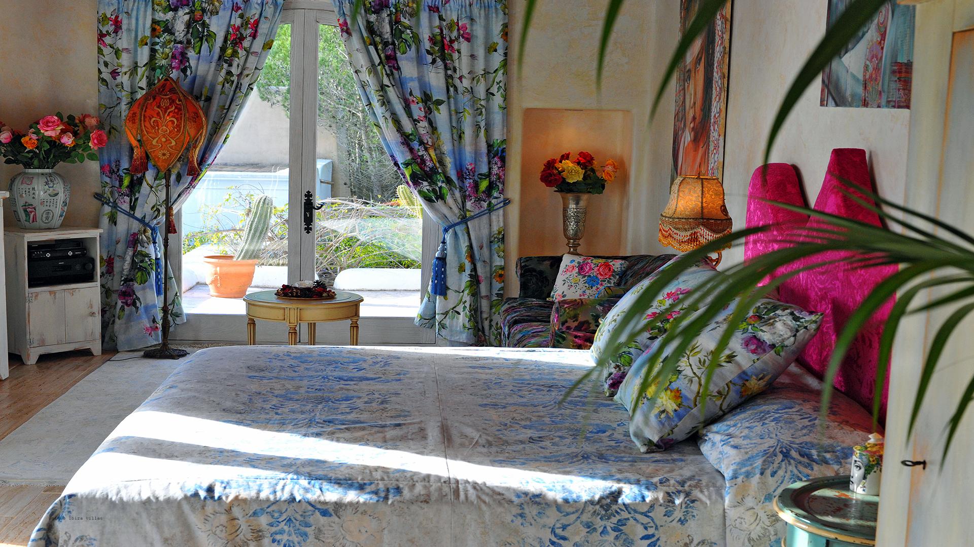 Can Baboo Ibiza 27 Master Bedroom