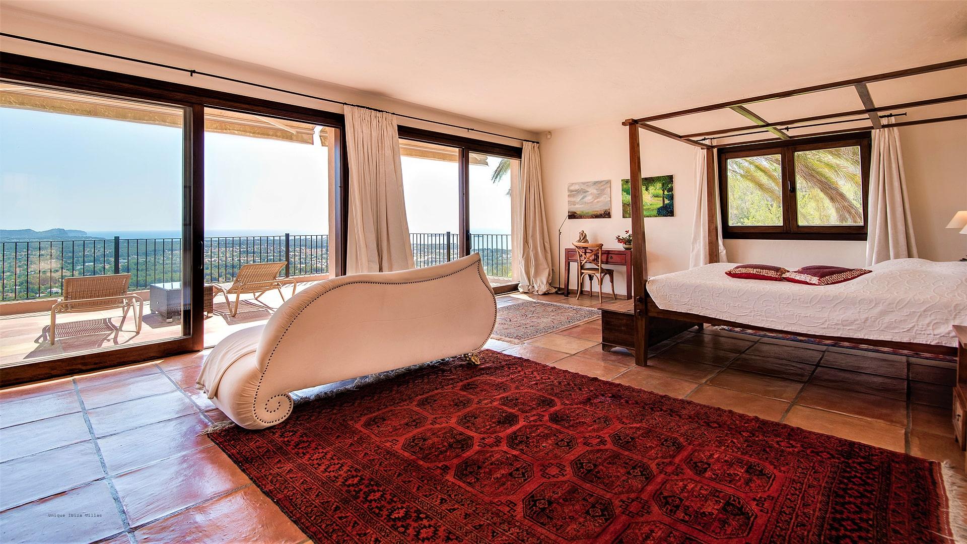 Villa Panorama Ibiza 21 Master Bedroom