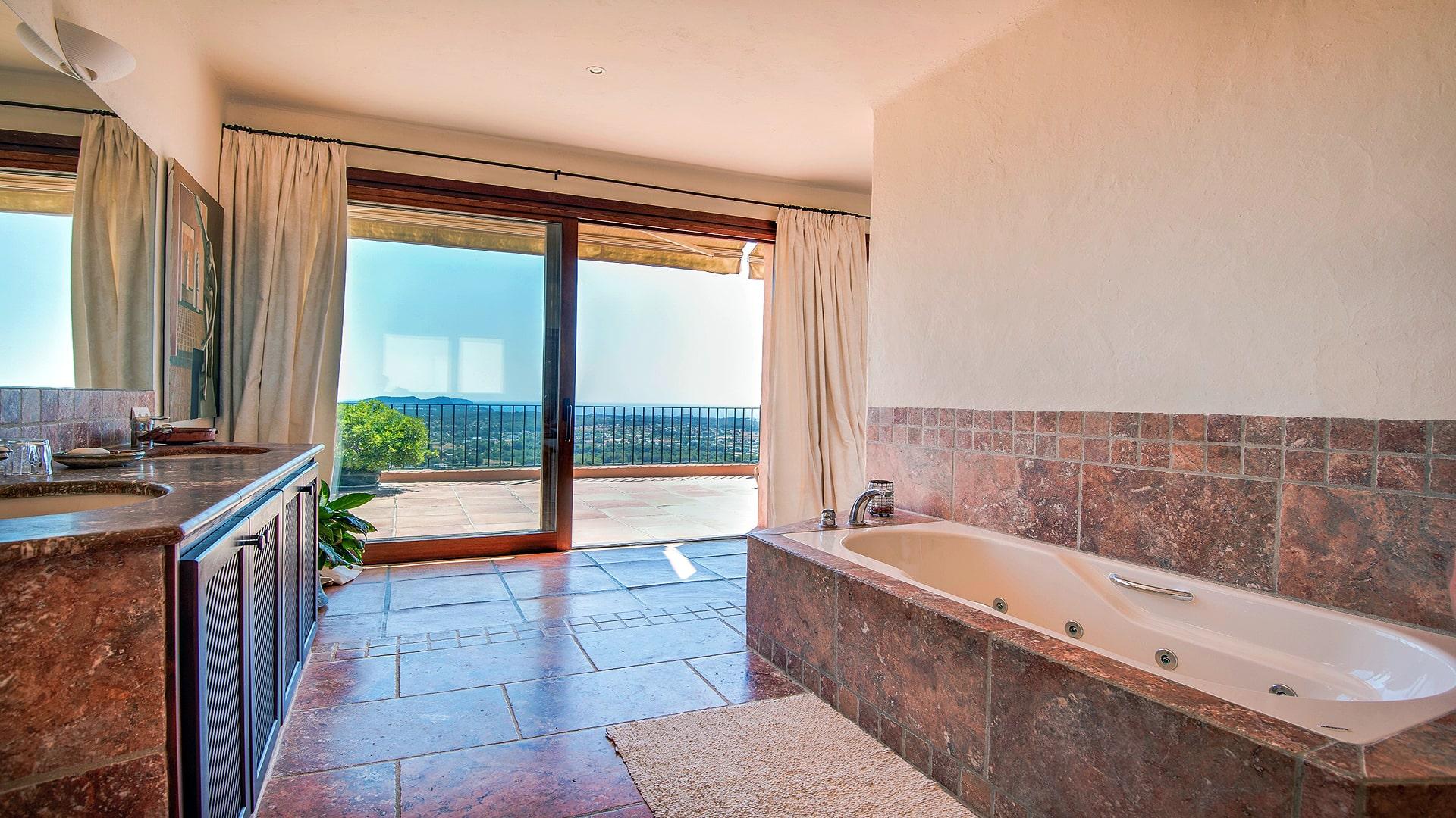 Villa Panorama Ibiza 22 Master Bedroom