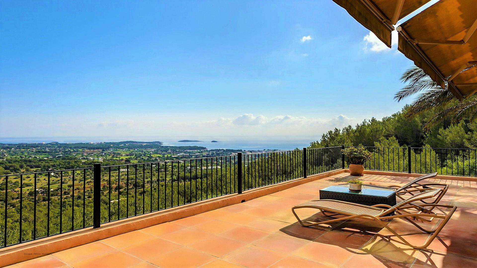 Villa Panorama Ibiza 23 Master Bedroom