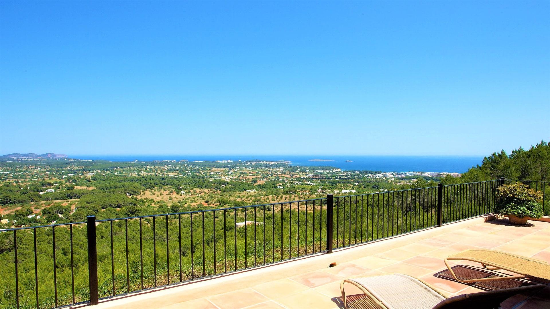 Villa Panorama Ibiza 24 Master Bedroom