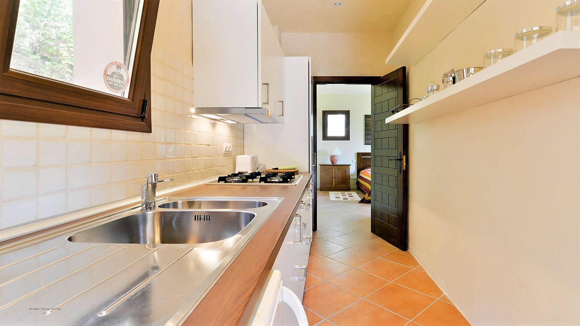 Villa Panorama Ibiza 32 Guesthouse Kitchen