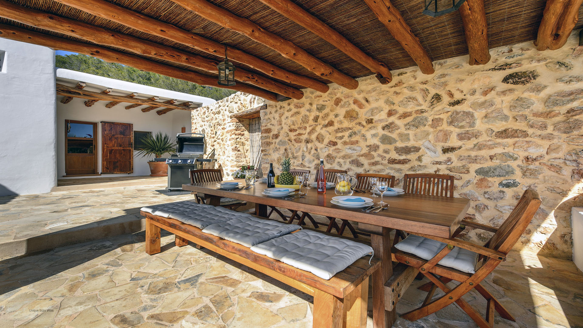 Villa Finca Mago Ibiza 24 Near Santa Gertrudis Unique Ibiza Villas