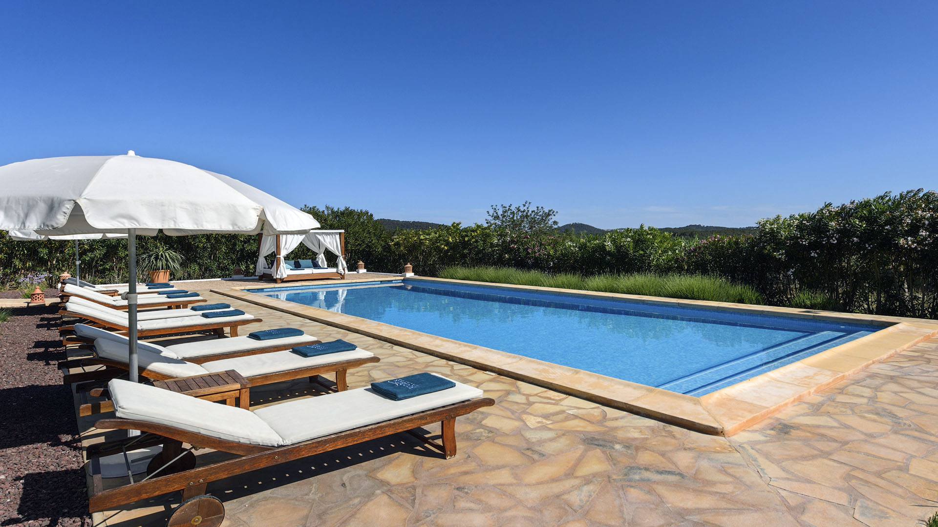 Villa Finca Mago Ibiza 5 Near Santa Gertrudis Unique Ibiza Villas