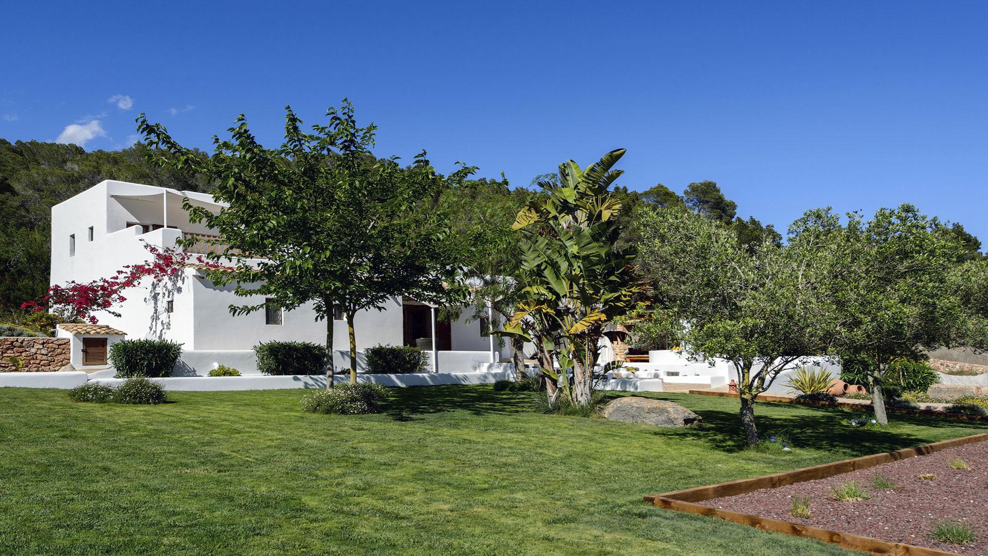 Villa Finca Mago Ibiza 10 Near Santa Gertrudis Unique Ibiza Villas