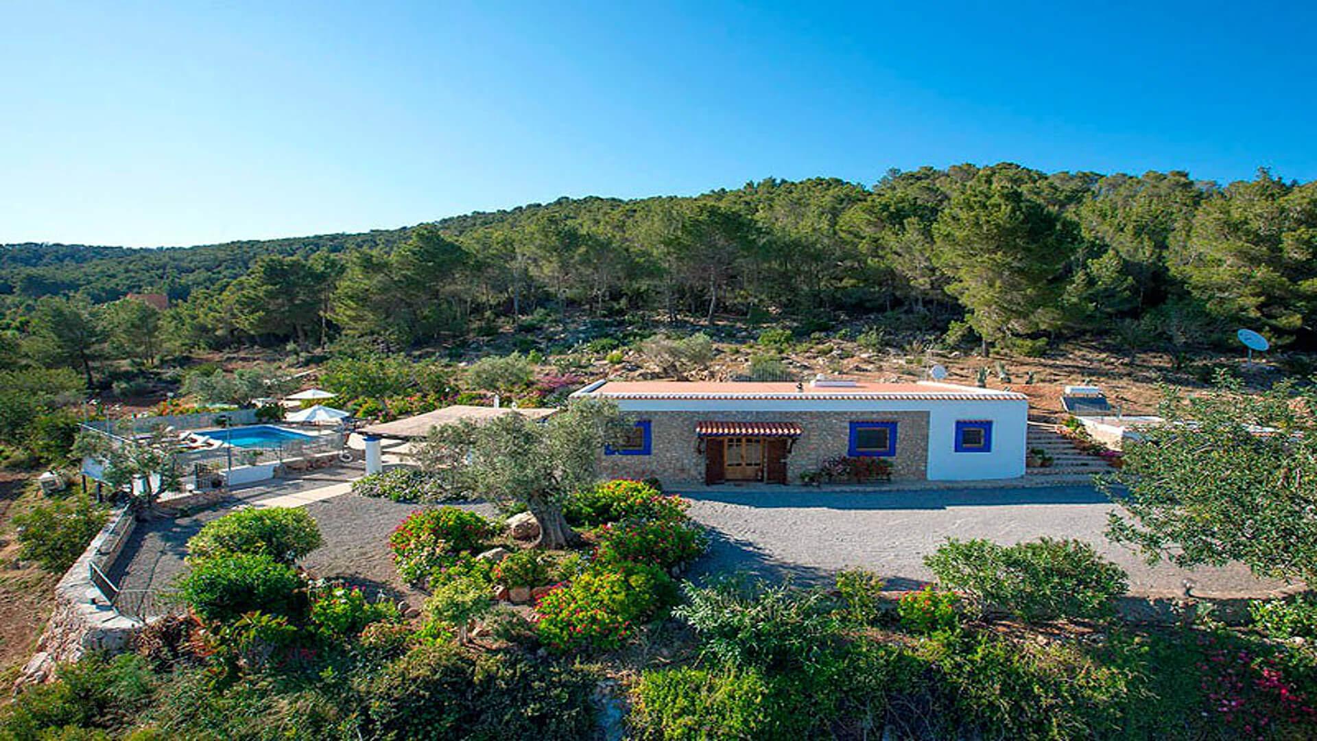 Villa Miguel De Balansat Ibiza 3 Near San Miguel North Ibiza Unique Ibiza Villas