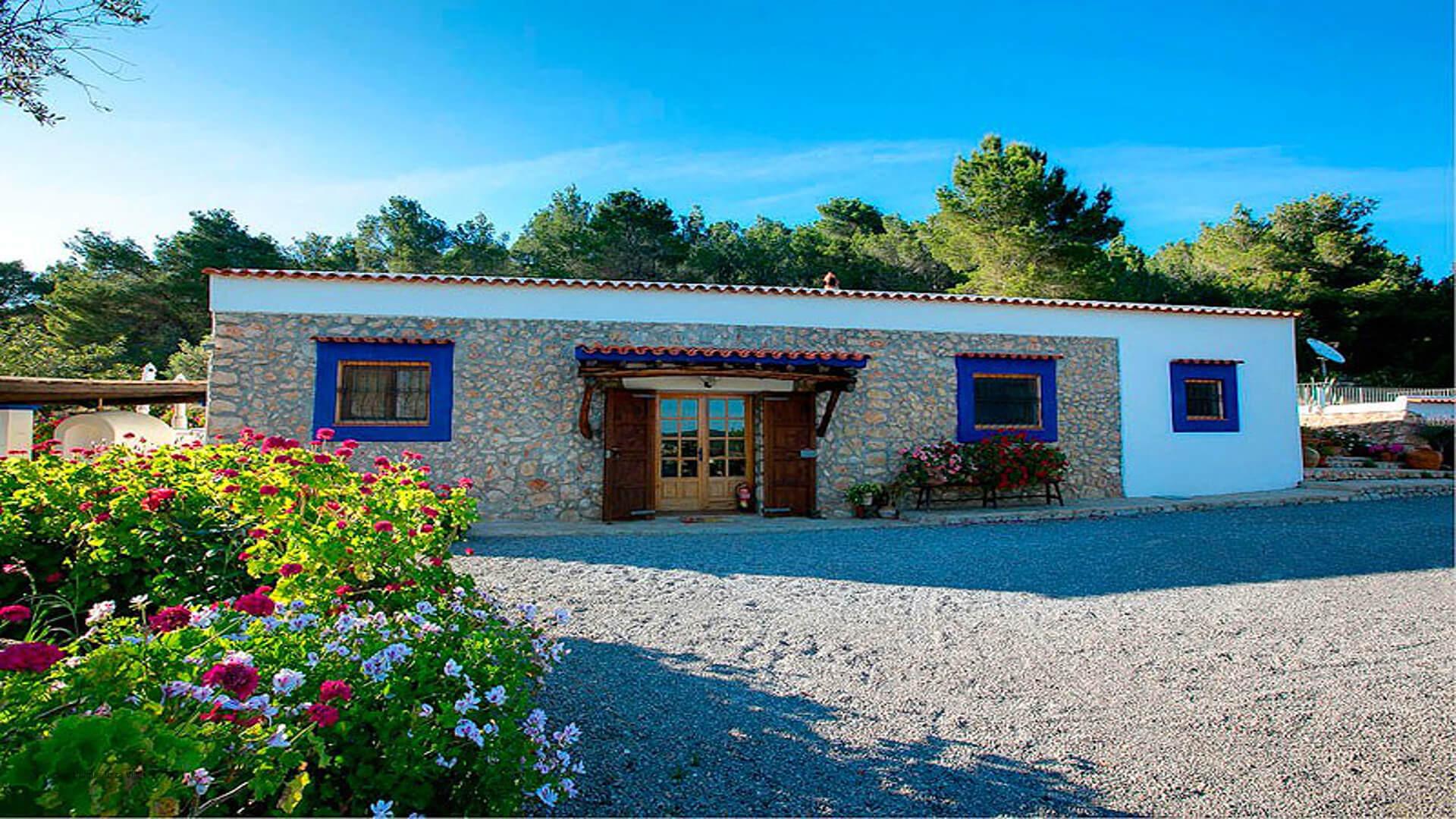 Villa Miguel De Balansat Ibiza 4 Near San Miguel North Ibiza Unique Ibiza Villas