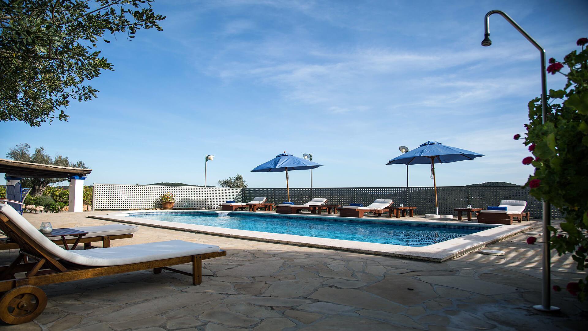 Villa Miguel De Balansat Ibiza 9C Near San Miguel North Ibiza Unique Ibiza Villas