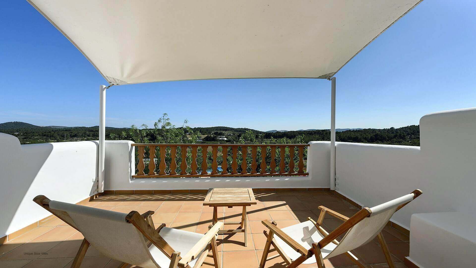 Finca Mago Ibiza 24A - First Floor Terrace