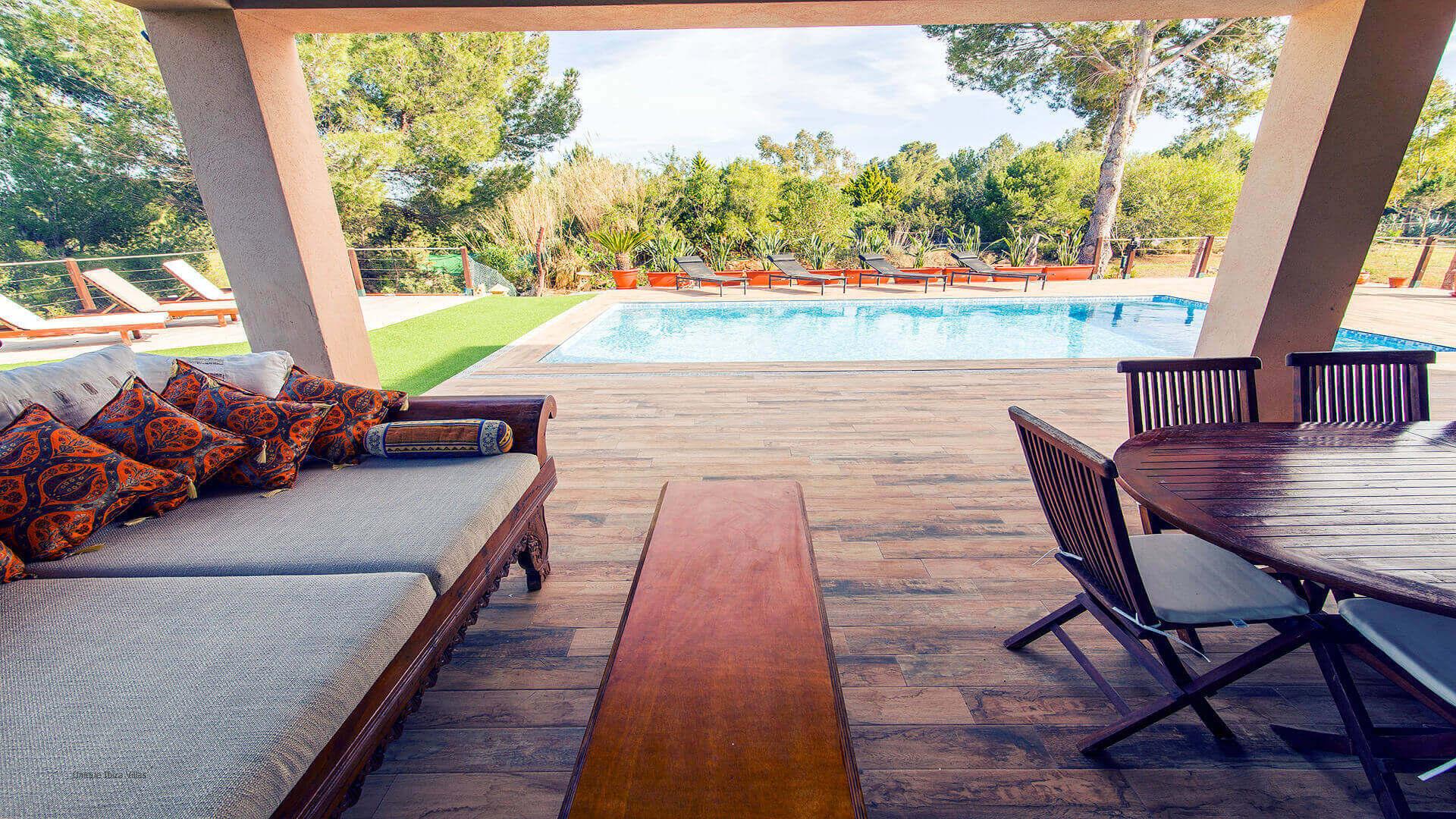 Villa Paissa Ibiza 10 Near Cala Jondal