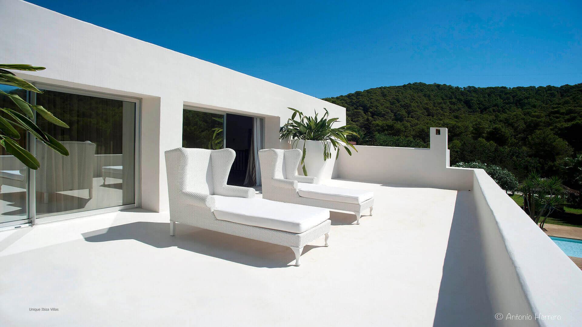 Villa Cactus Ibiza 26 Bedroom 1 Terrace