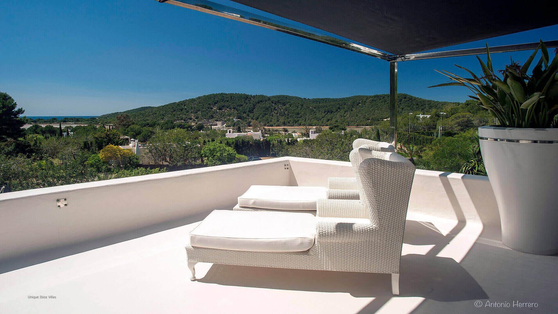 Villa Cactus Ibiza 27 Bedroom 1 Terrace