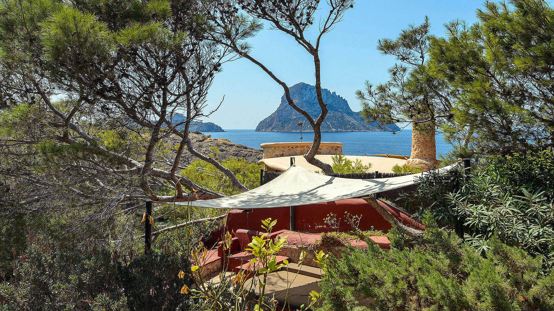 Villa Romantic Ibiza 2 Cala Carbo