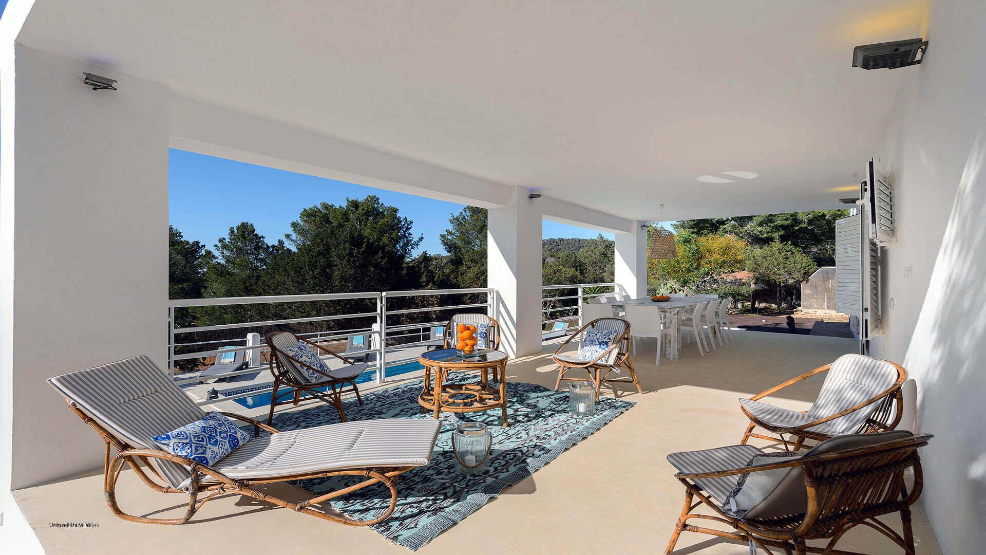 Can Tarida Ibiza 15 Ground Floor Terrace
