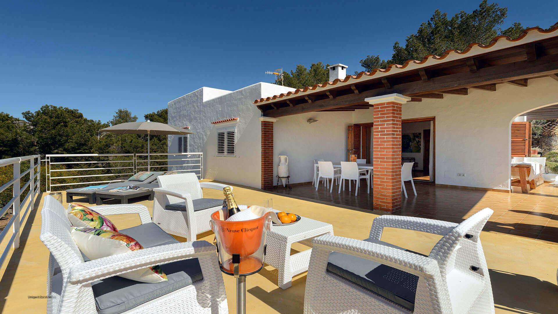 Can Tarida Ibiza 24 First Floor Terrace