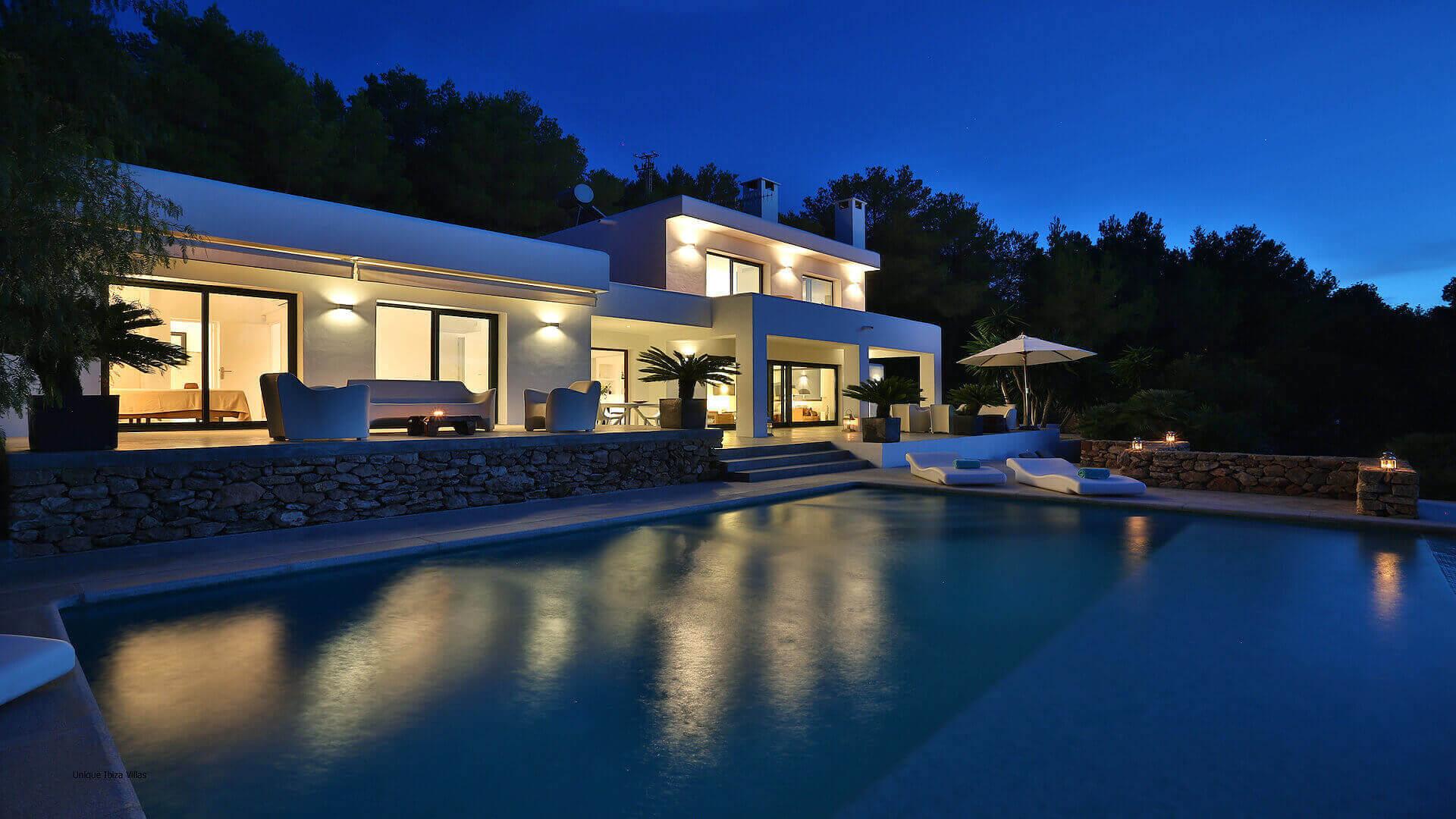 Villa Lua Ibiza 8 Cala Tarida