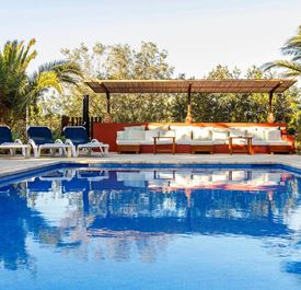 VILLA CASA LA VILA - (Sleeps 6+ - Private pool - Sant Josep village - west Ibiza - 3+ bedrooms)