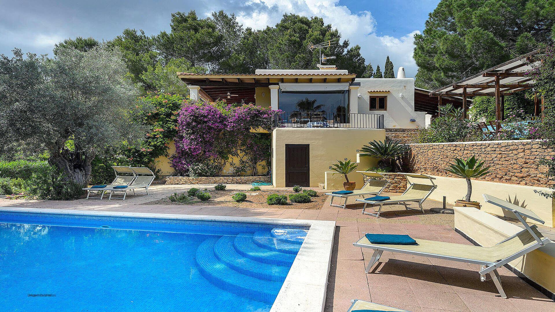 Villa Los Olivos Ibiza 1 Near San Antonio