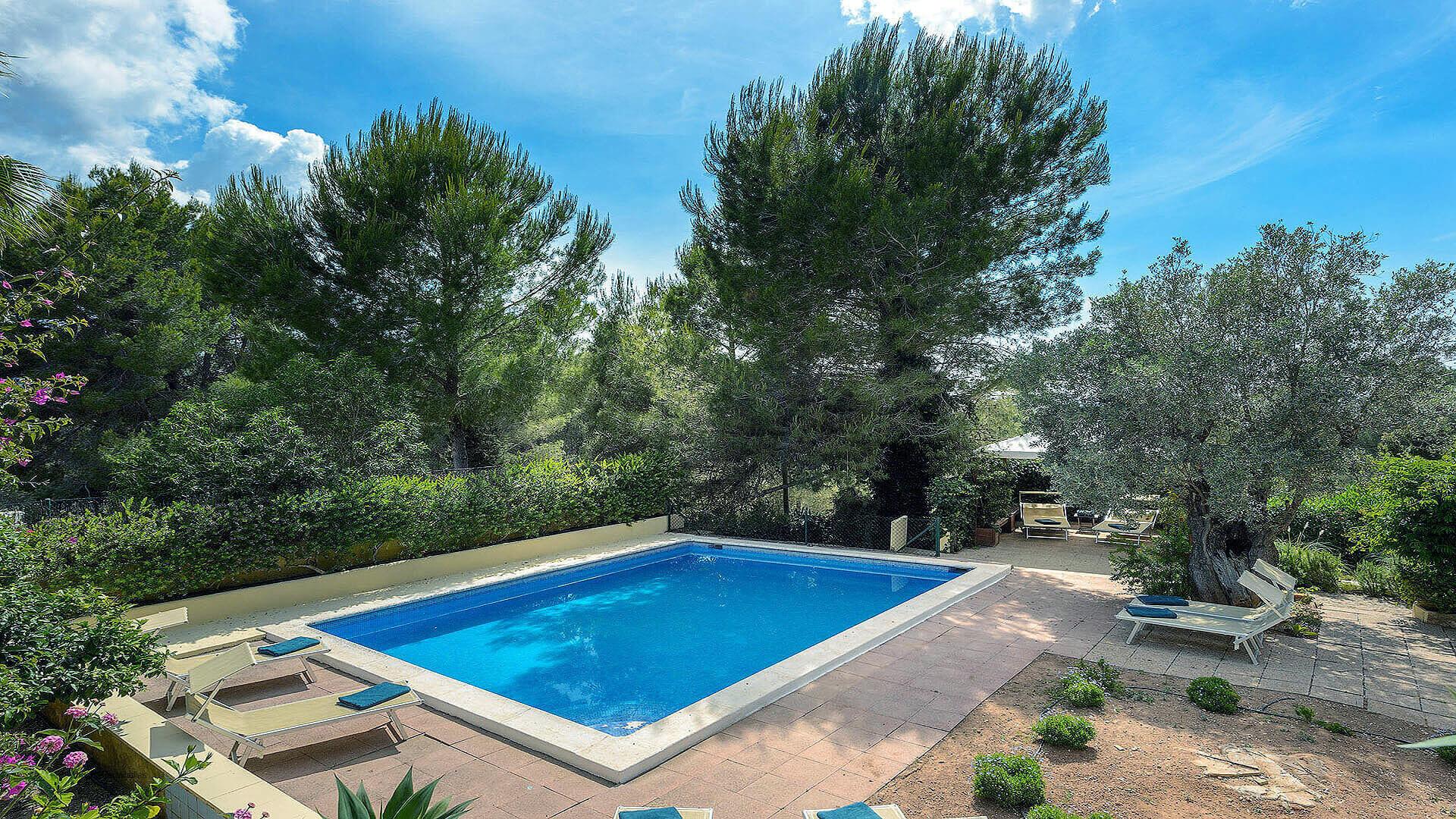Villa Los Olivos Ibiza 5 Near San Antonio