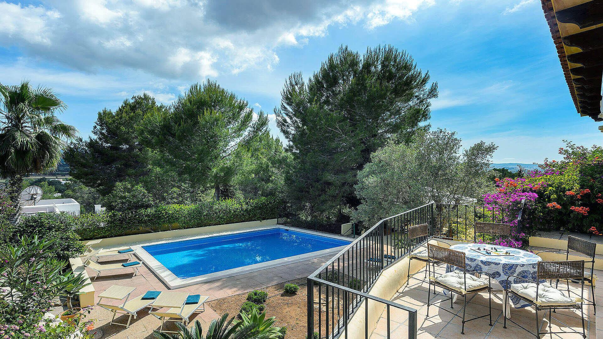 Villa Los Olivos Ibiza 6 Near San Antonio