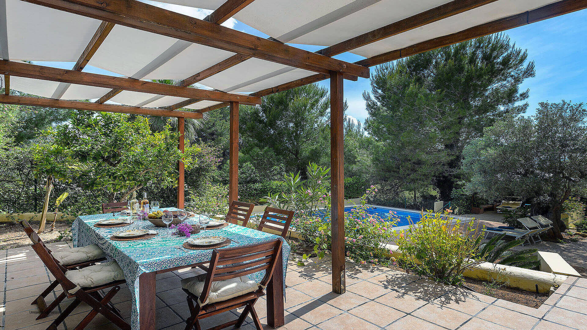 Villa Los Olivos Ibiza 11 Near San Antonio