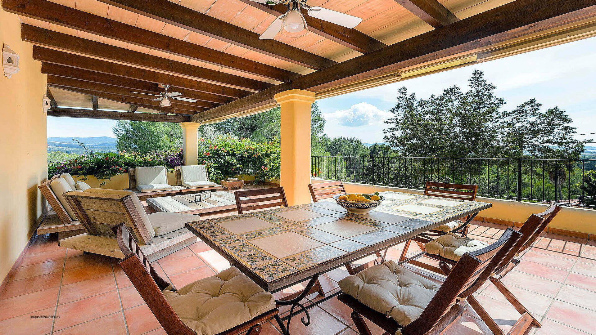 Villa Los Olivos Ibiza 19 Near San Antonio