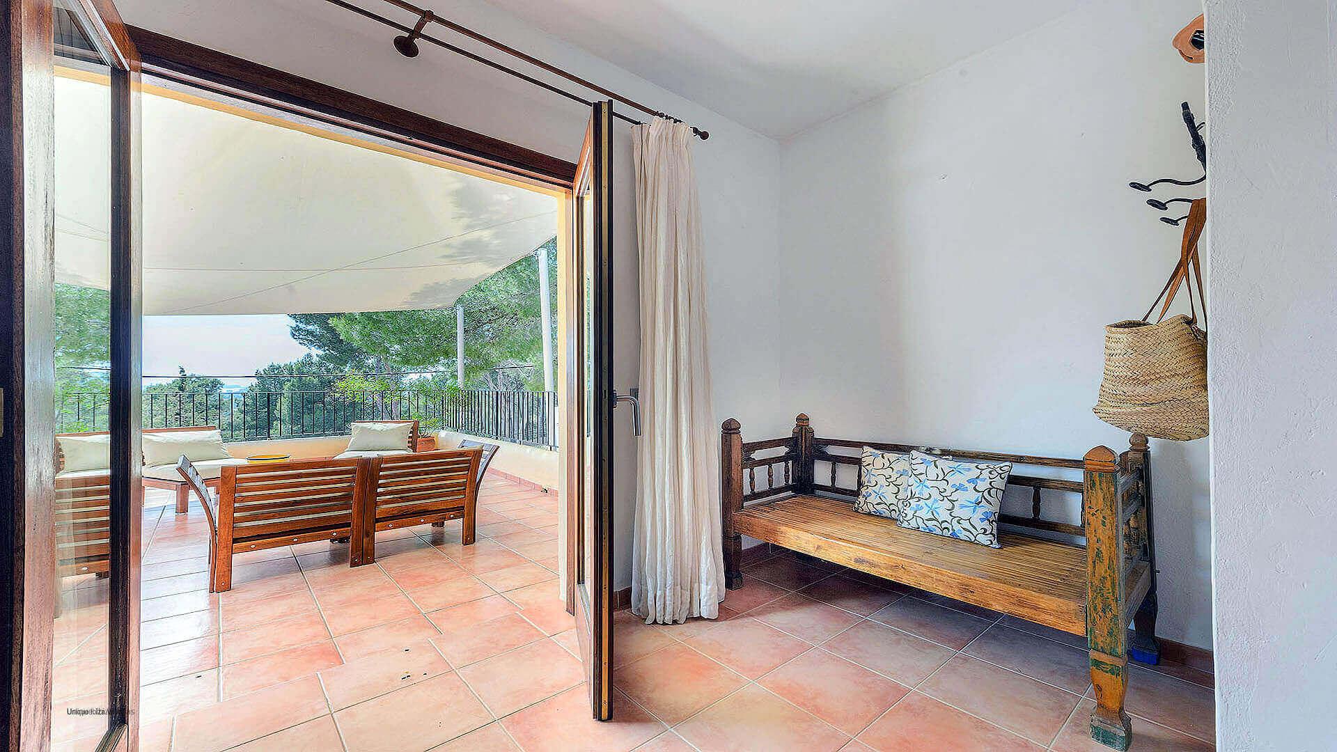 Villa Los Olivos Ibiza 32 Bedroom 1 Terrace