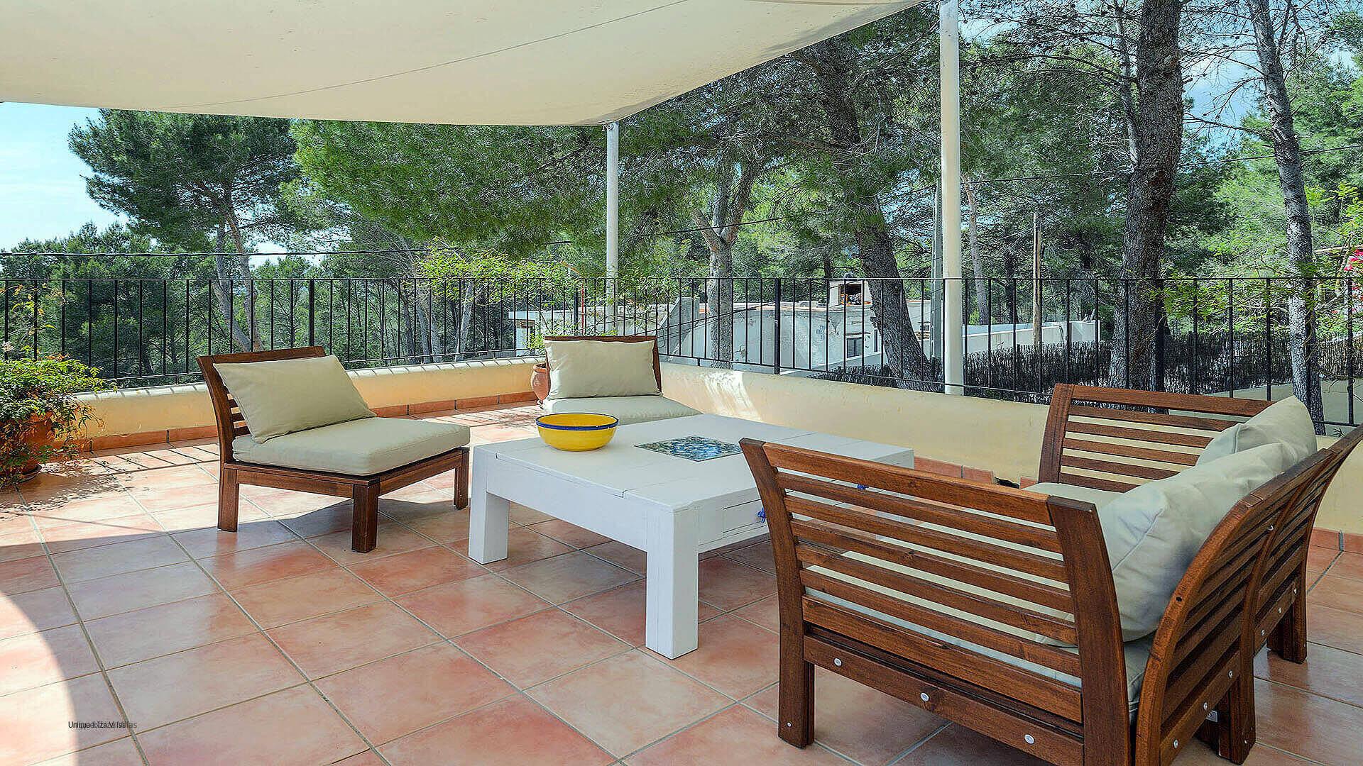 Villa Los Olivos Ibiza 33 Bedroom 1 Terrace