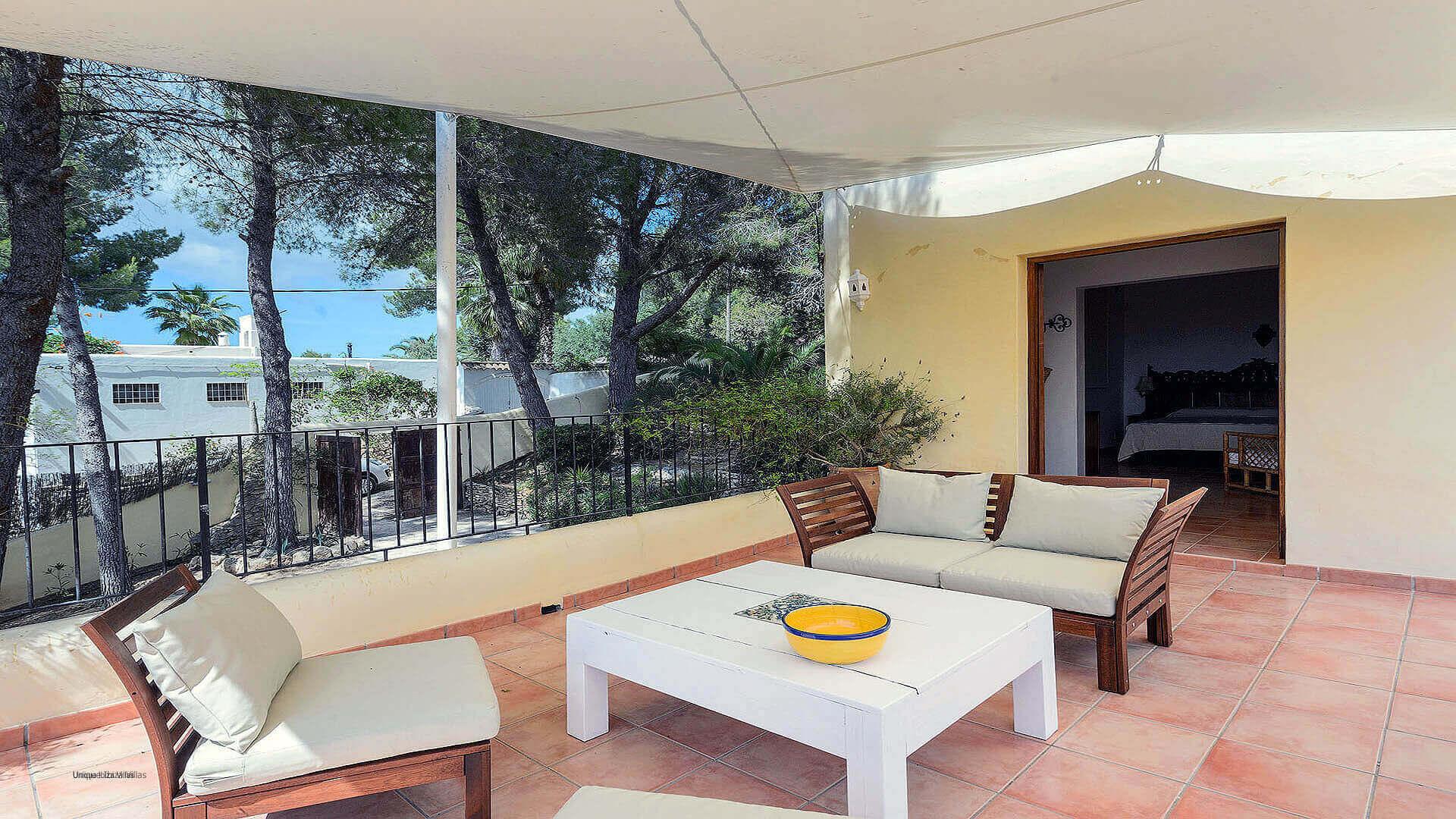 Villa Los Olivos Ibiza 34 Bedroom 1 Terrace