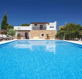 VILLA CUNA - (Sleeps 8 - Private pool - Near restaurants - Sant Josep village - west Ibiza - 4 bedrooms)