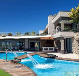 VILLA FUENTE DE IBIZA - (Sleeps 12+ - Private pool - Panoramic sea views - Near Ibiza Town - 6+ bedrooms)