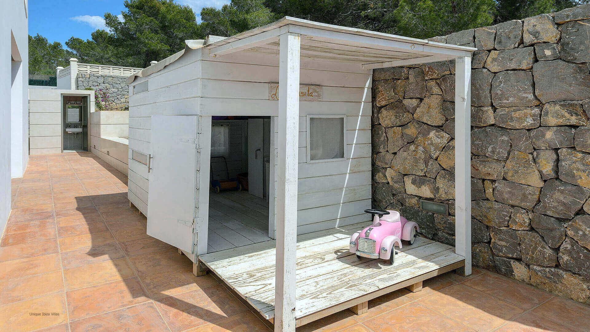 Villa Montecristo Ibiza 10 Rear Courtyard