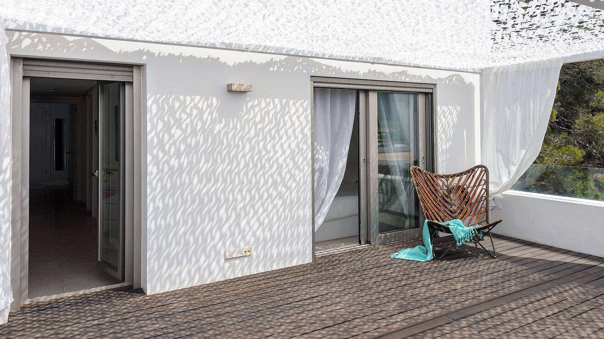 Villa Montecristo Ibiza 13 Upstaris Terrace