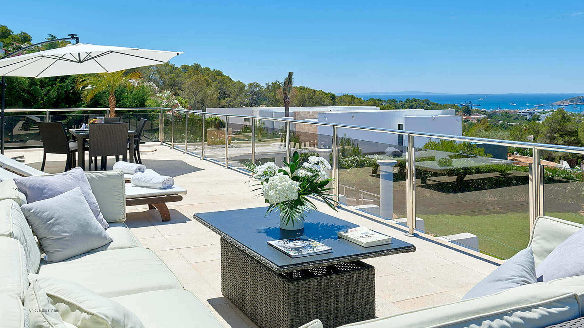 Villa Fontana Ibiza 5 Upper Terrace