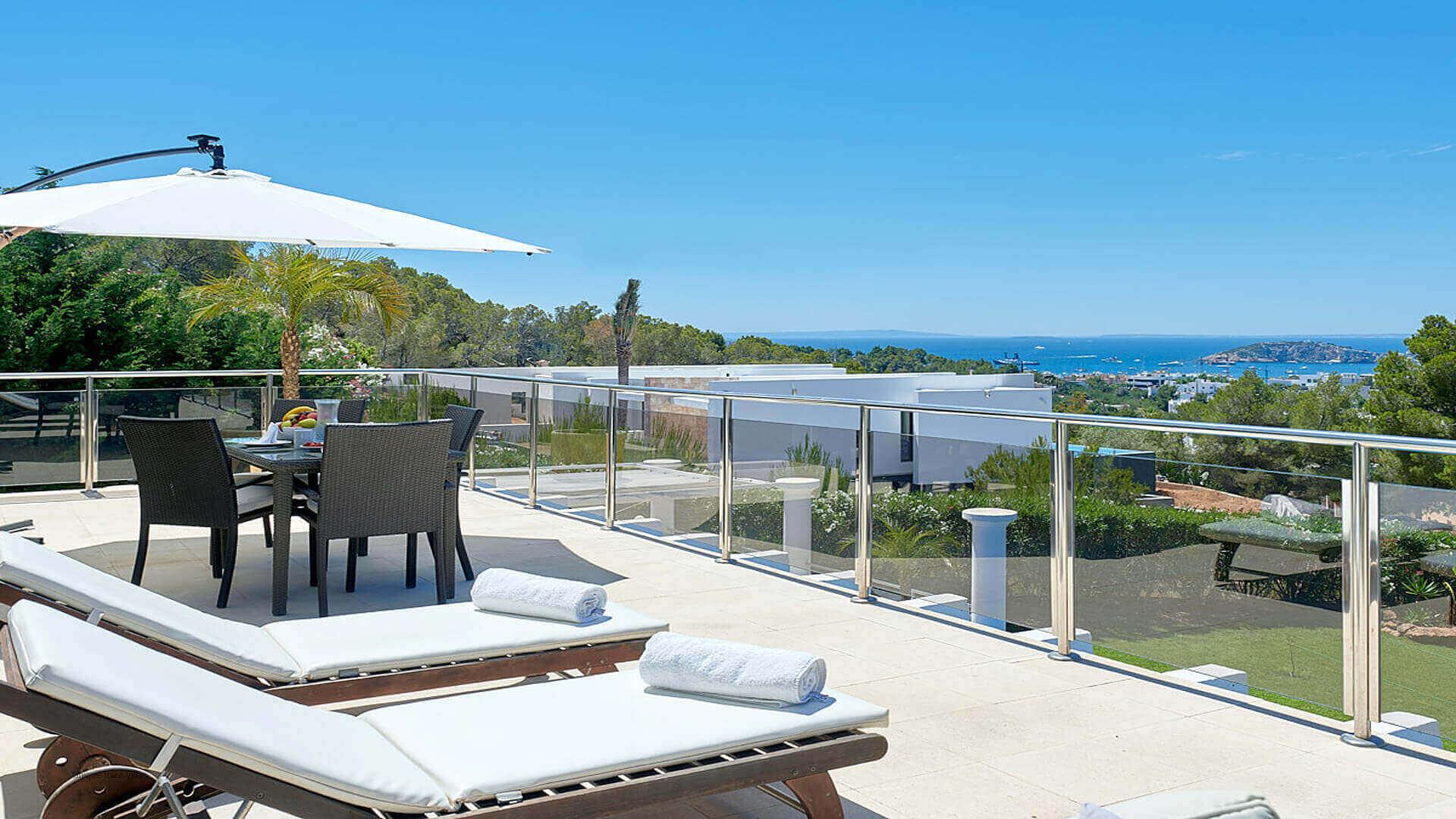 Villa Fontana Ibiza 6 Upper Terrace