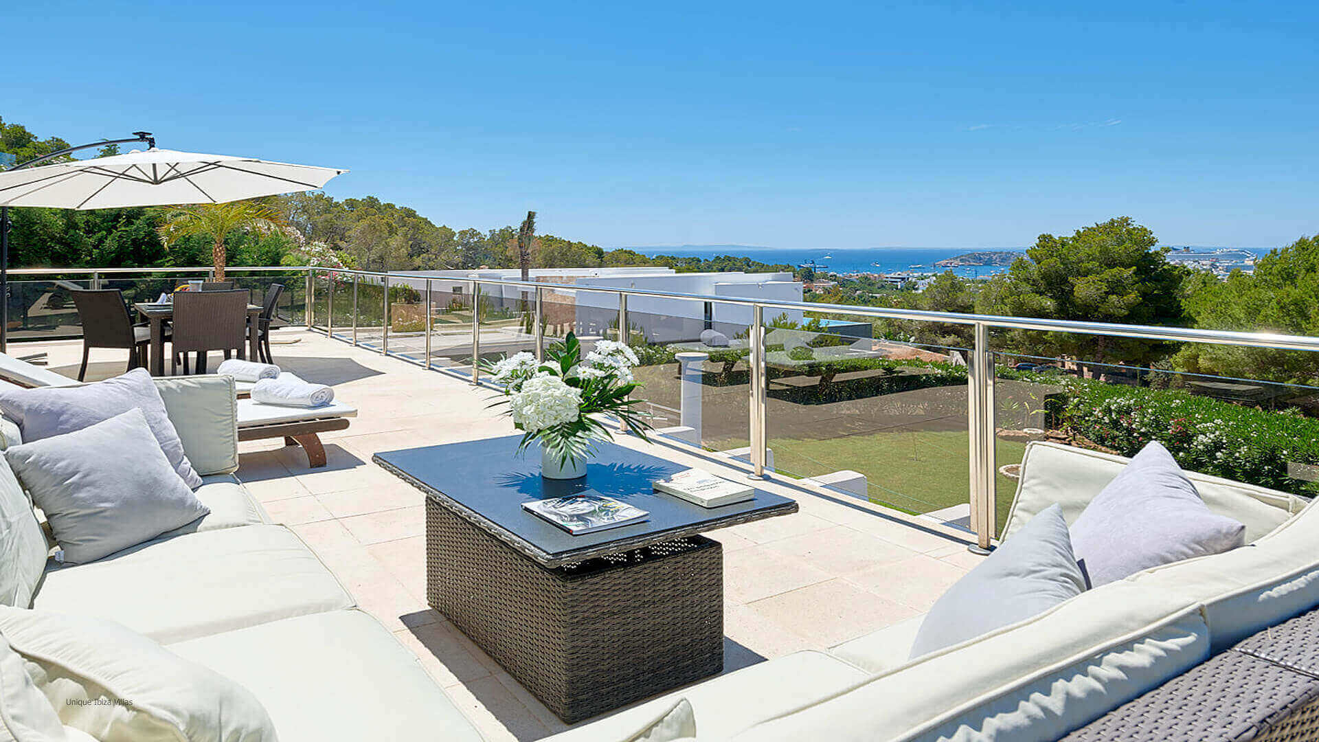 Villa Fontana Ibiza 9 Upper Terrace