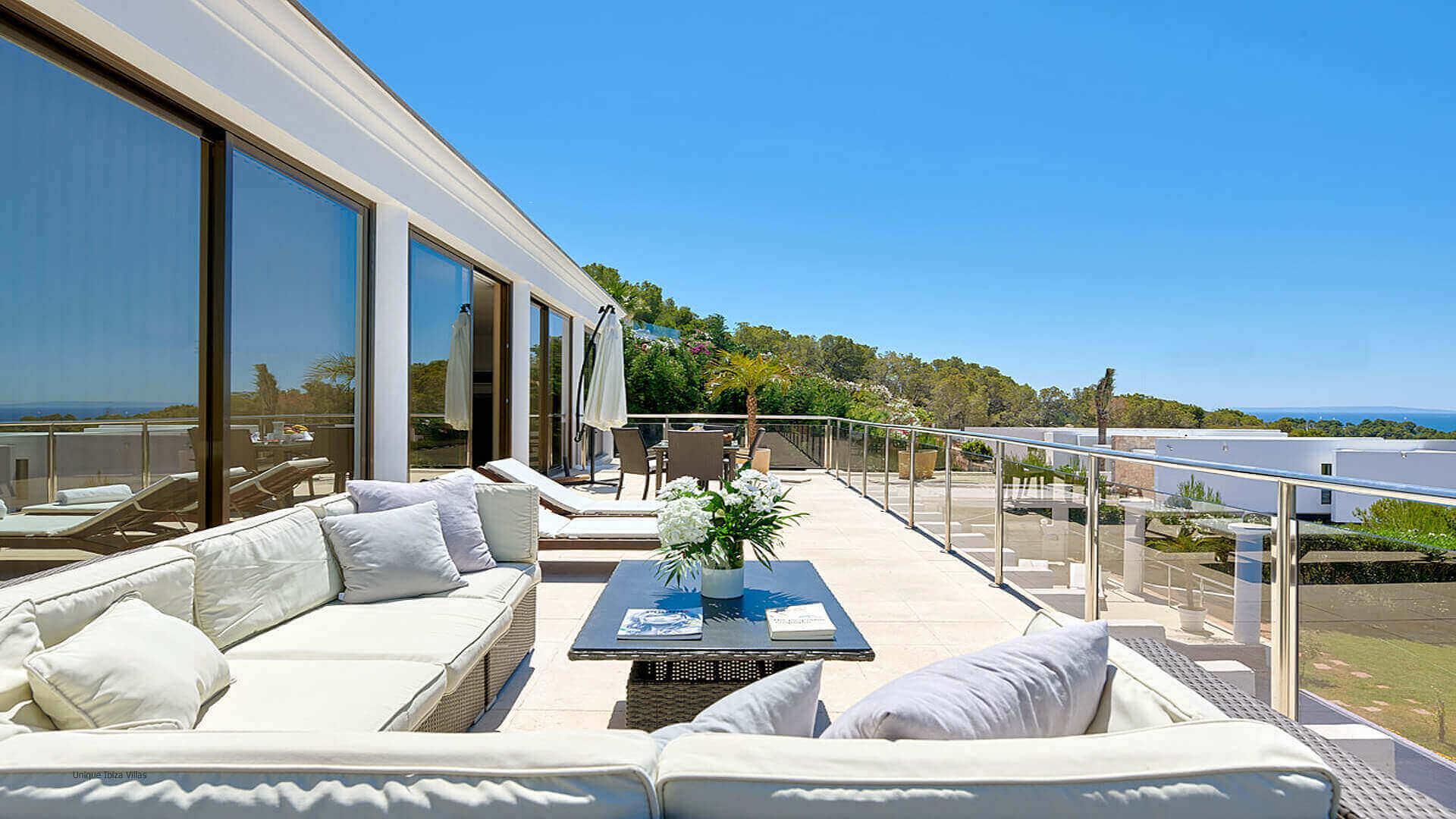 Villa Fontana Ibiza 10 Upper Terrace