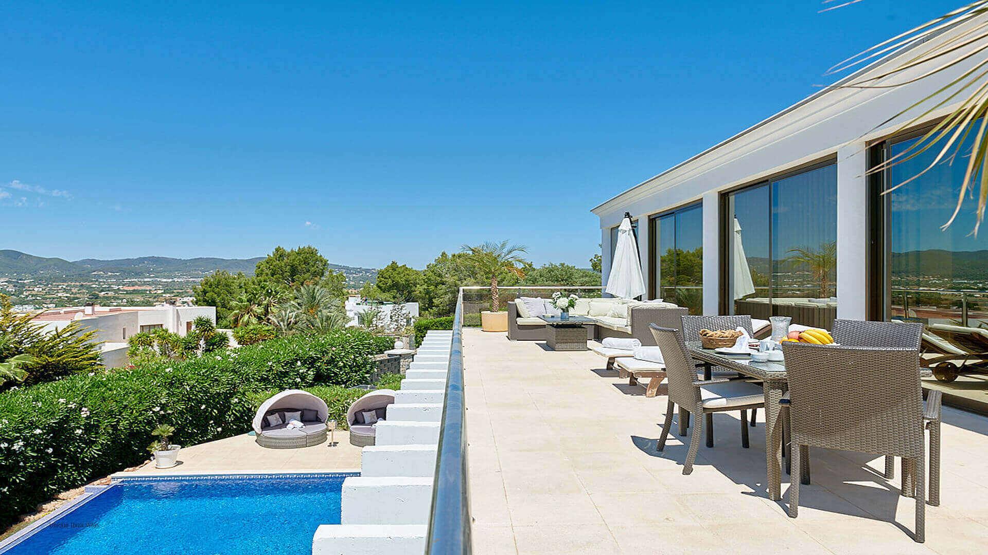 Villa Fontana Ibiza 11 Upper Terrace