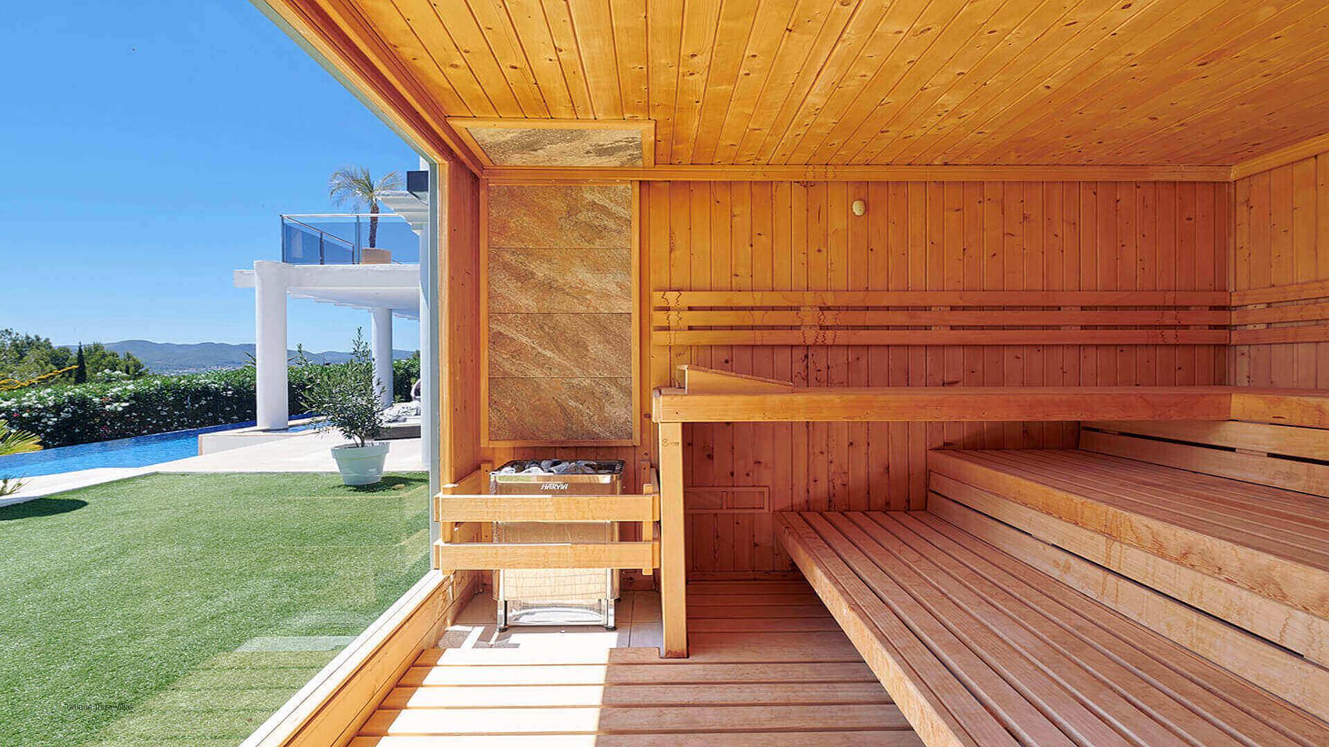 Villa Fontana Ibiza 22 Sauna