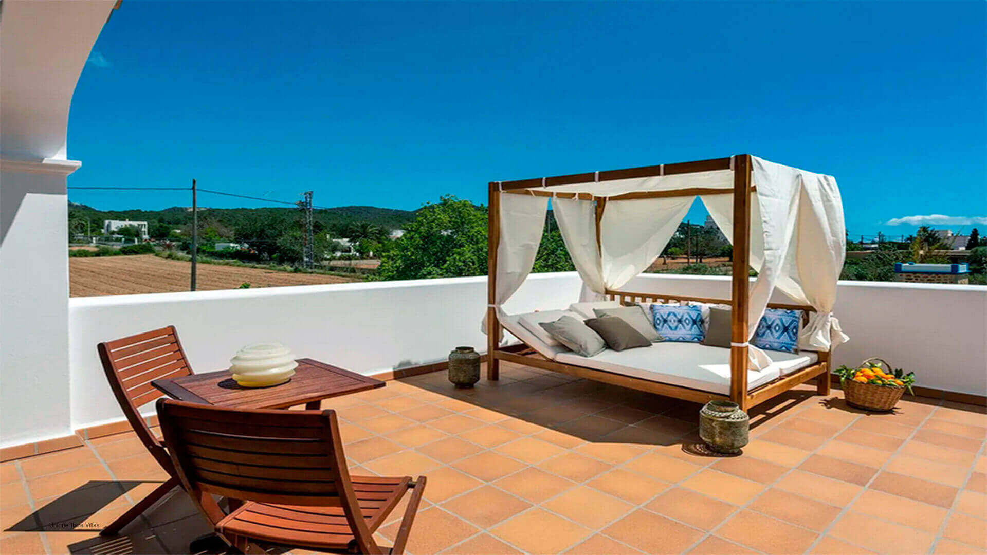 Villa Mussett Ibiza 35 First Floor Terrace