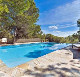 CAN COLLS - (sleeps 7 - villa with private pool - near Ibiza Town - 3 bedrooms)