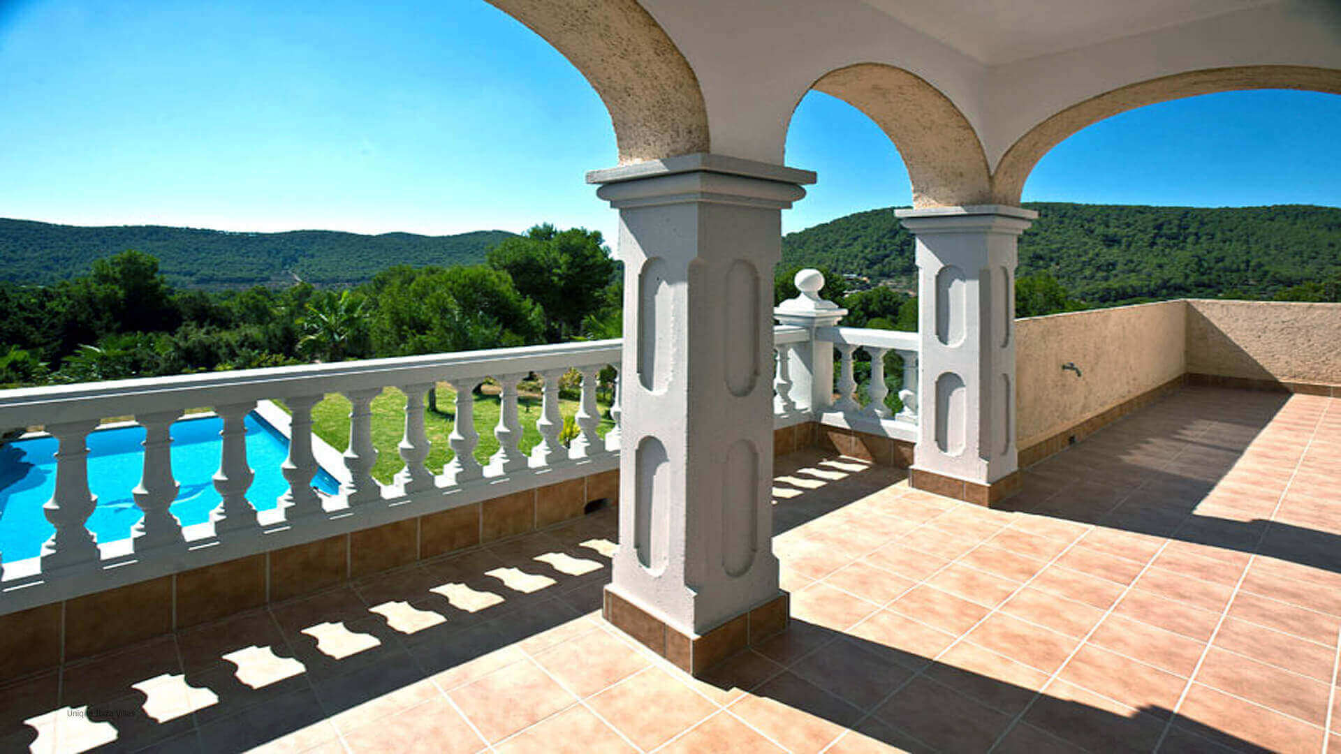 Villa The Pond Ibiza 32 First Floor Terrace