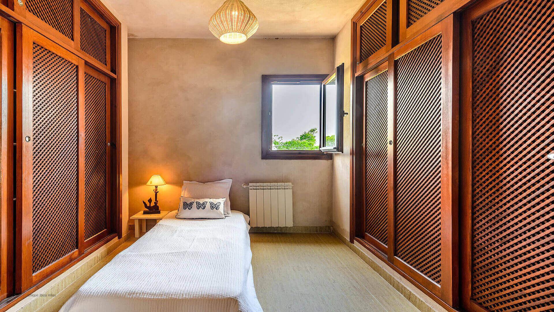 Villa Sa Boca Ibiza 30 Bedroom 1 Wardrobe Extra Bed