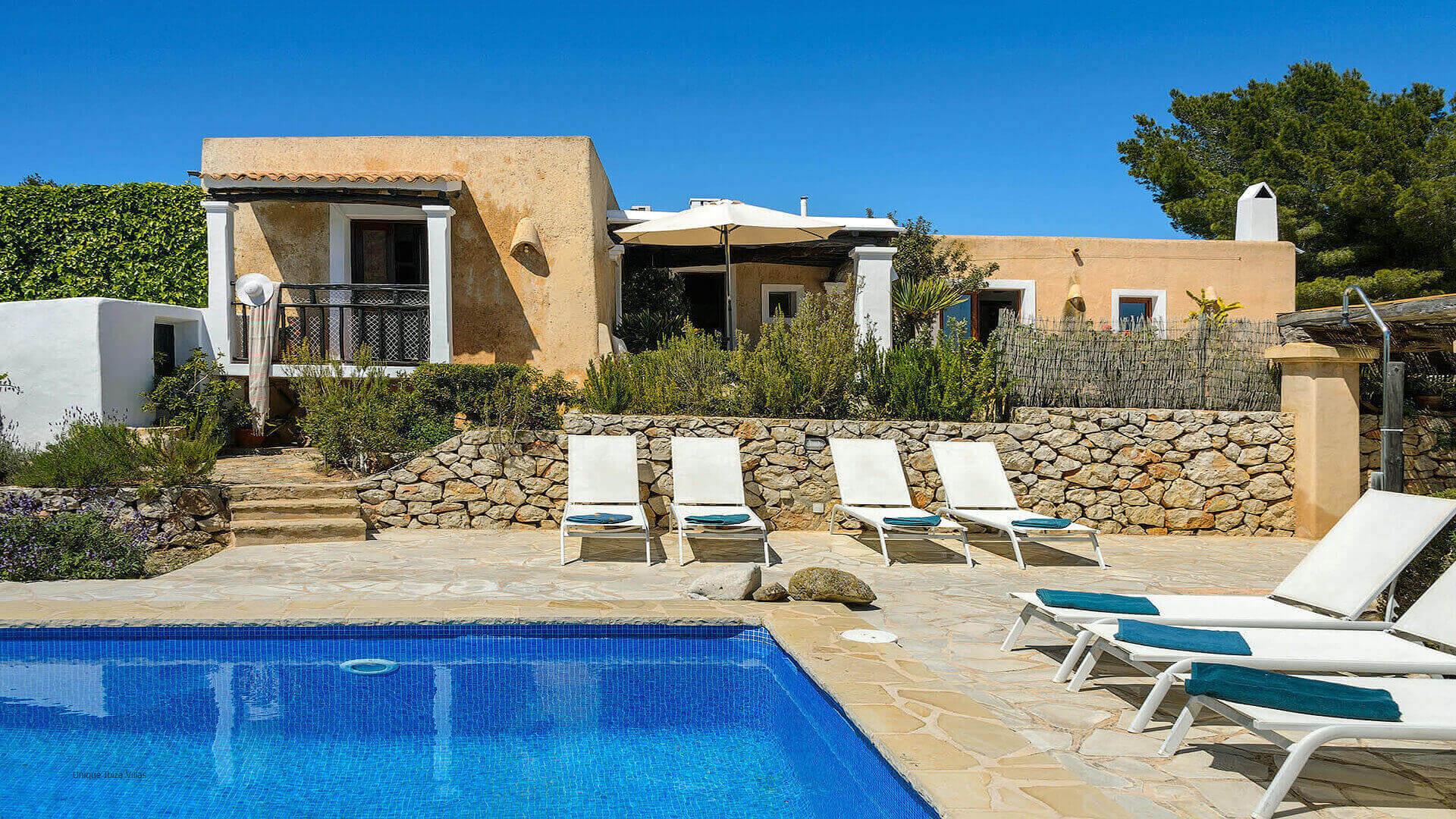 Villa Romero I Ibiza 4 Near Es Cubells