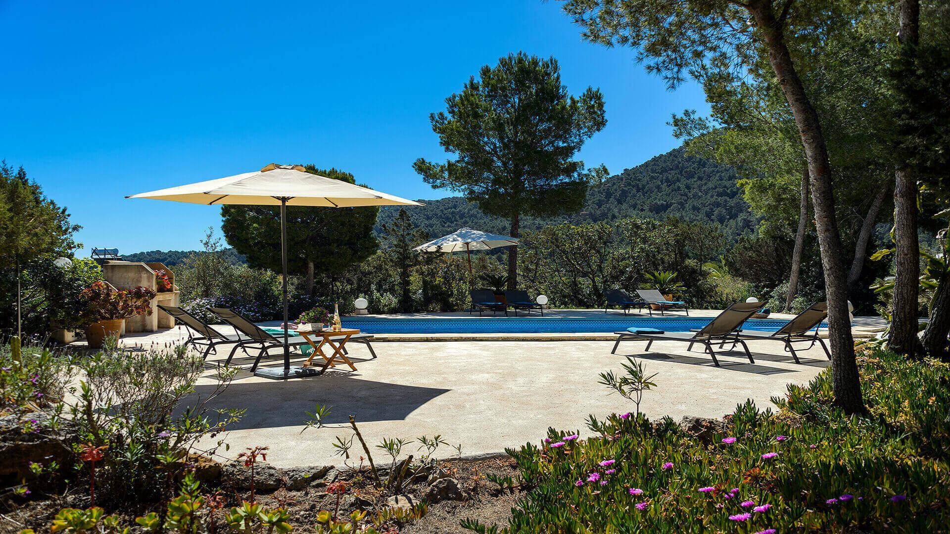 Villa Romero II Ibiza 9 Near Es Cubells
