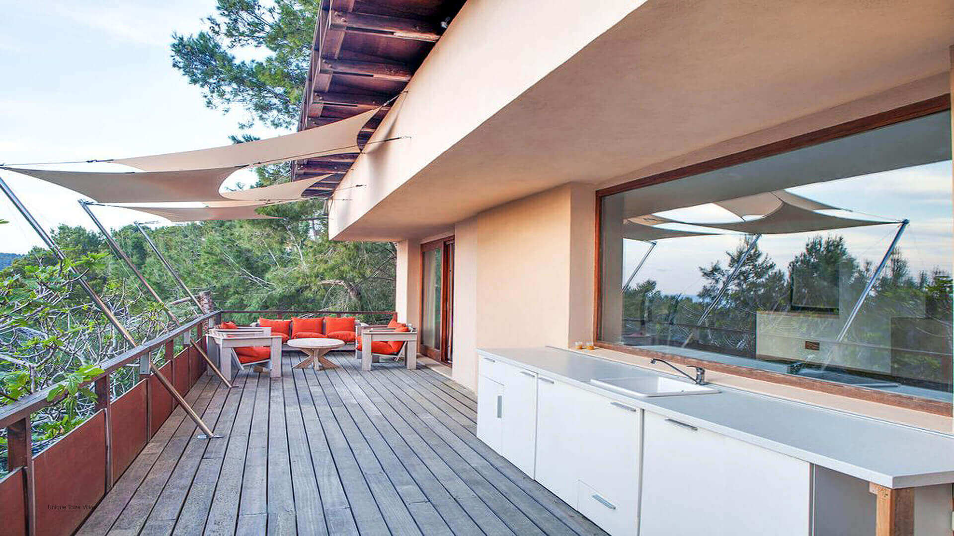 Villa Mint Ibiza 12 First Floor Terrace