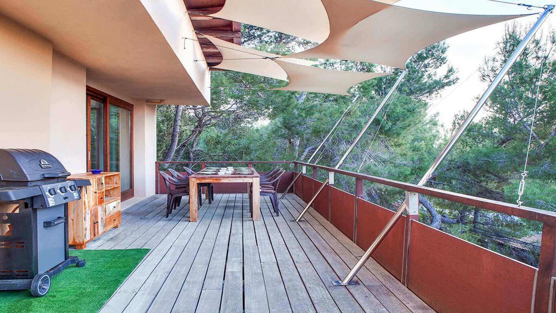 Villa Mint Ibiza 13 First Floor Terrace