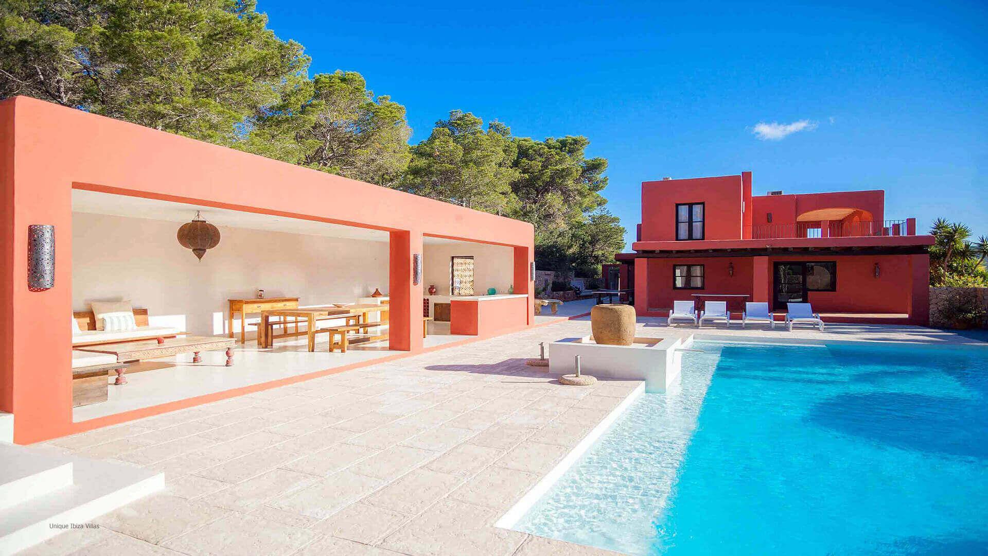 Casa Roja Ibiza 3 Cala Vadella